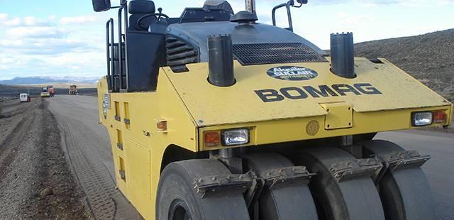 Compactadoras de asfalto