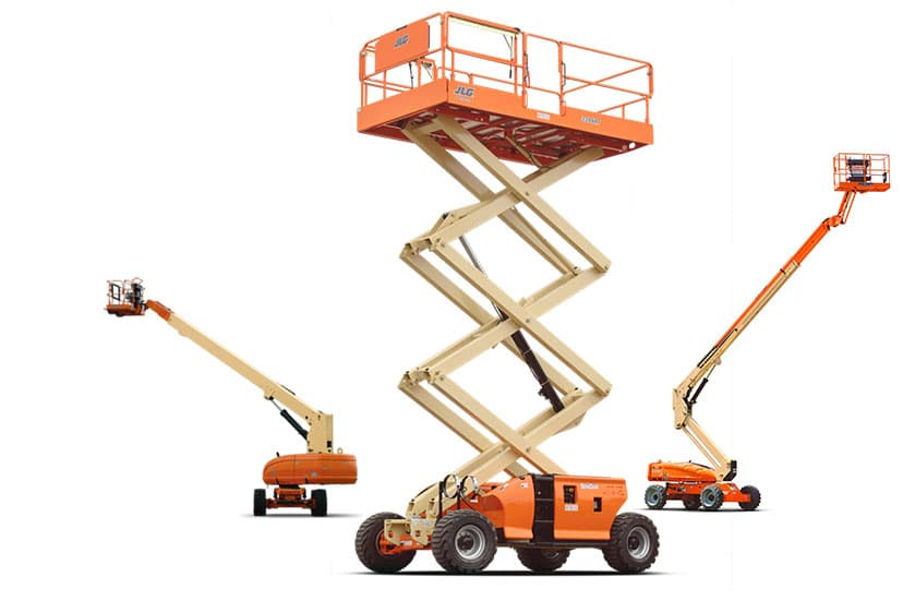 Plataformas para<br /> trabajo en altura